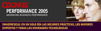 Cognos performance 2005