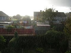 Lluvia en Dublín