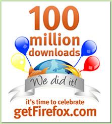 Firefox 100 Million