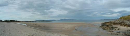 Dia 07 -03 - Morar Beach (pano)
