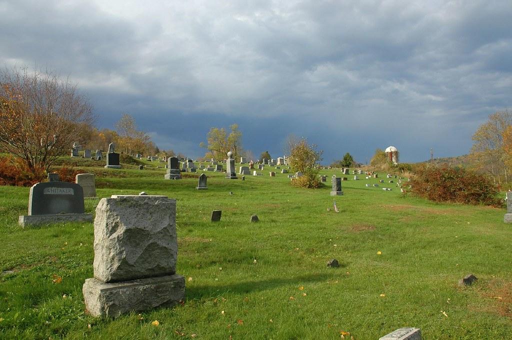 mountain cemetery