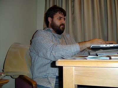 Kevin Blogging