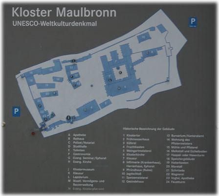 Maulbronn Map