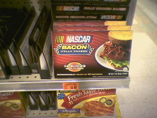 NASCAR Bacon