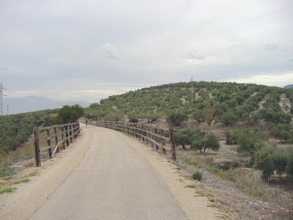baranda de la vía verde