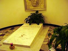 tomba Giovanni Paolo II