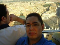 Desde la Cupula del Vaticano