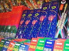 Festive sparklers