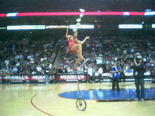 unicycle bowl flipper