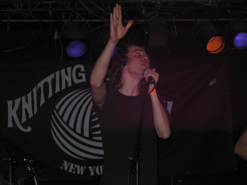 Tom Vek @ Knitting Factory