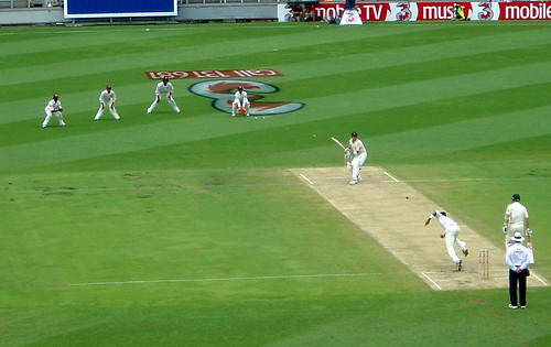 Australians batting
