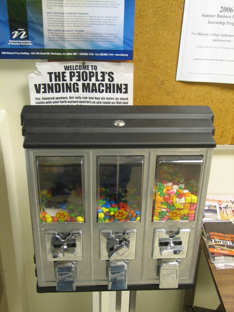 The People's Vending Machine