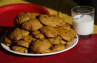 pumpkin chocolate chip cookies-m.a.