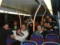Alegría en el bus