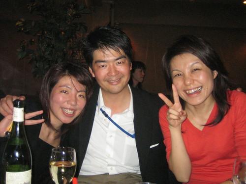 Yatsuda-san, Yoshida-san, Kana-san