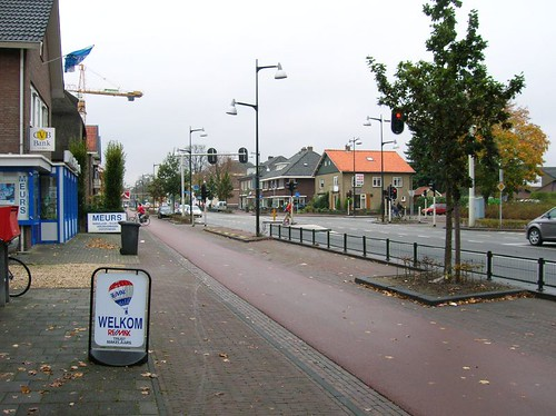A slip lane in the Netherlands 2