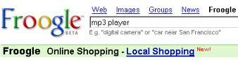 Froogle integra los clasificados de Google Base 2