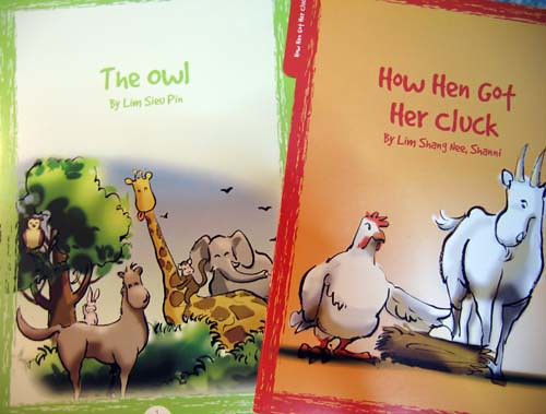 THe owl and how hen got her cluck