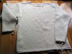 First Sweater for Scott