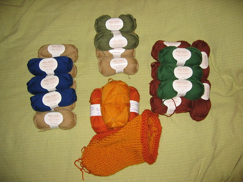 Yarn for Felted Clogs
