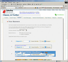 Effecticebrand.com : sélection d'une bannière
