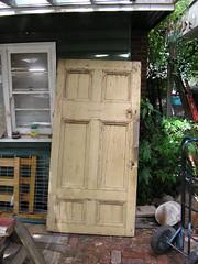 old large door