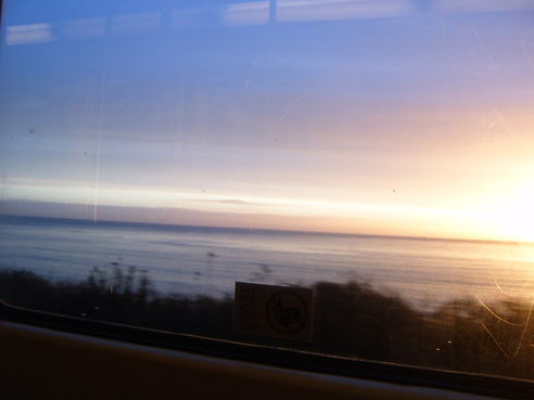 View from the DART