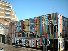 Protest Mural in Kings Cross
