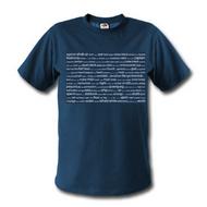 TagCloud T-shirt