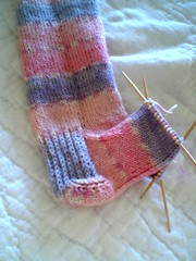 A larger view of the Trekking sock