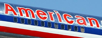 scritta American Airlines