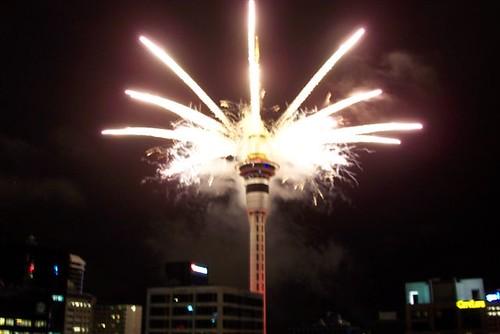 Happy Birthday fireworks 01/02/2006