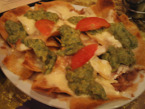 Nachos from La Fiesta in Mountain View