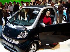 European Autoshow Brussels - Perla on a Smart