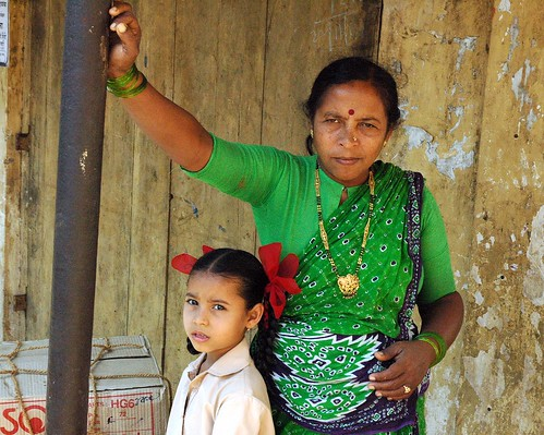 Mother and Child. [Vasai]