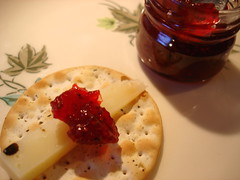 cranberry mostarda