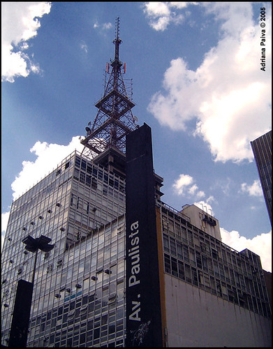 Avenida Paulista - 2006 - Foto com Sony-cybershot