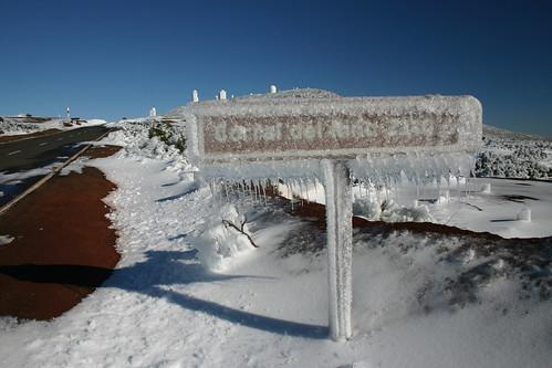 Icicles. Parque Nacional del Teide