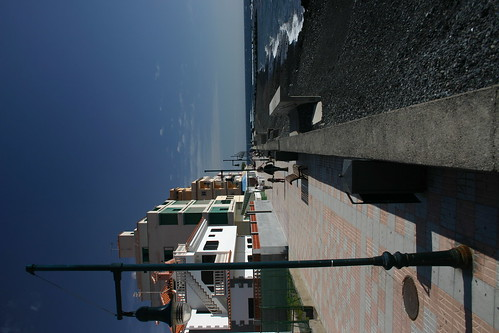 Cute seafront promenade in Las Galletas