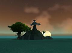 Insel vor Booty Bay