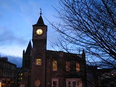 Stockbridge in Edinburgh at Dusk (2)