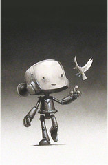 Robot and Sparrow