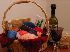 Knit Olympics supplies