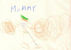 mommy drawing