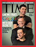 Google on cover of Time magazine