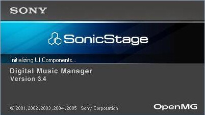 sonicstage 3.4