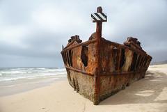 Maheno Wreck photo by stevoarnold