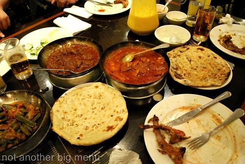 Lahore kebab dinner