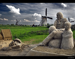 Once upon a time... in Kinderdijk! photo by B'Rob