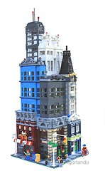 Lego City: Downtown Metro photo by lgorlando